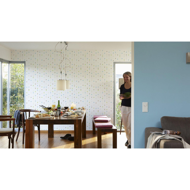 a s creation vliestapete blau gr n kaufen bei obi. Black Bedroom Furniture Sets. Home Design Ideas