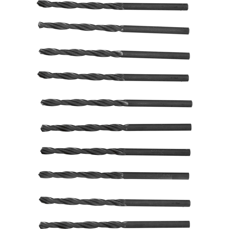 HSS-R Spiralbohrer Bohrer-Ø 10 Stück 5,3 mm