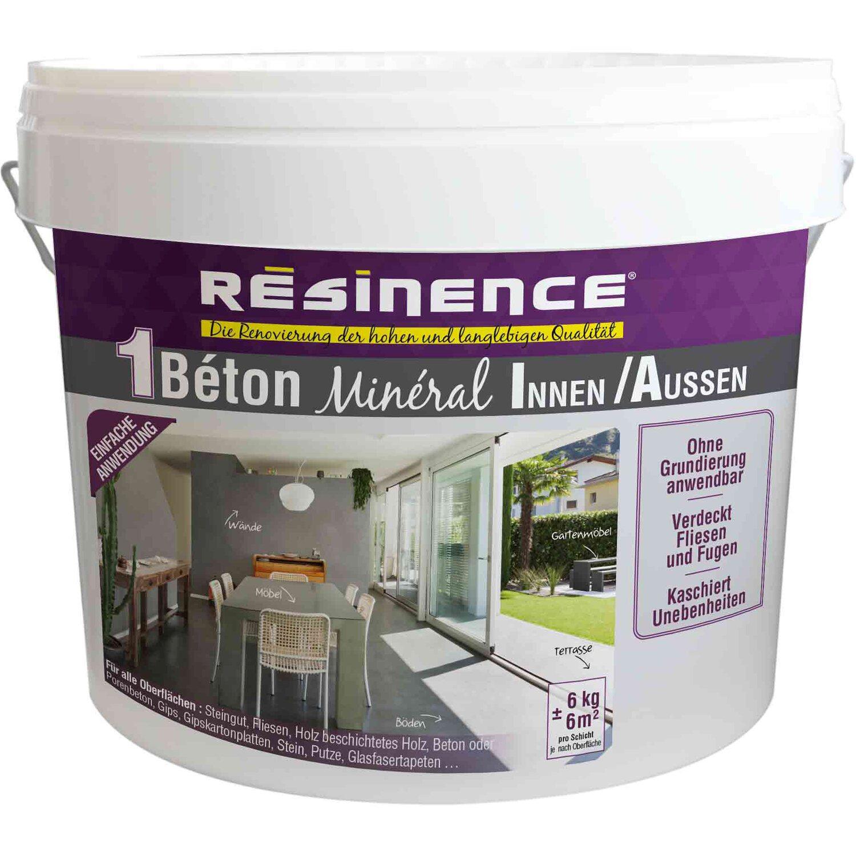 resinence beton mineral nr. 14 hellgrau 6 kg kaufen bei obi