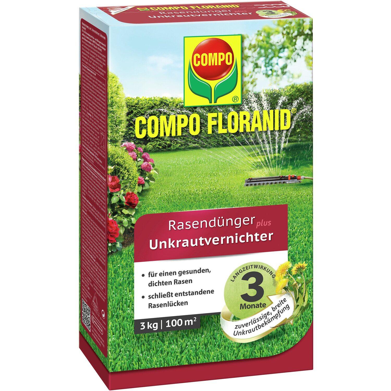 compo floranid rasend nger plus unkrautvernichter 3 kg f r. Black Bedroom Furniture Sets. Home Design Ideas