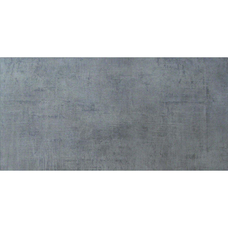 Sonstige Feinsteinzeug Cement Anthrazit 45 cm x 90 cm