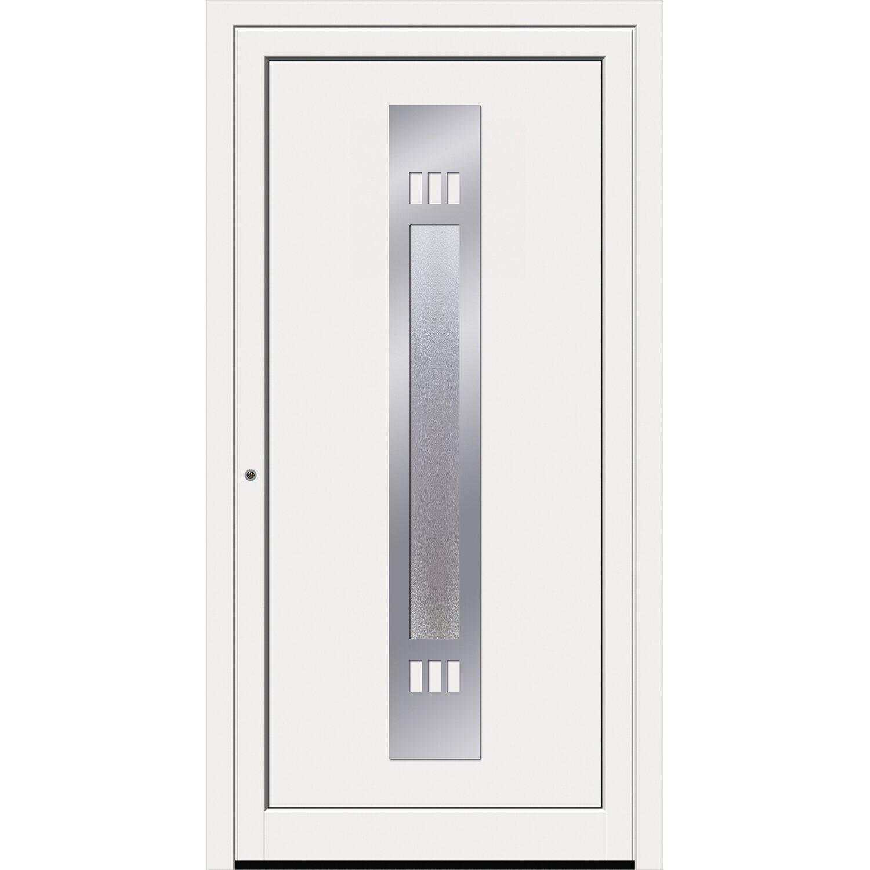 Sonstige Kunststoff-Haustür 8301GE 100 cm x 210 cm Weiß Anschlag Links