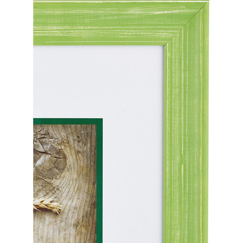 OBI Holz-Bilderrahmen Grün 50 cm x 60 cm kaufen bei OBI