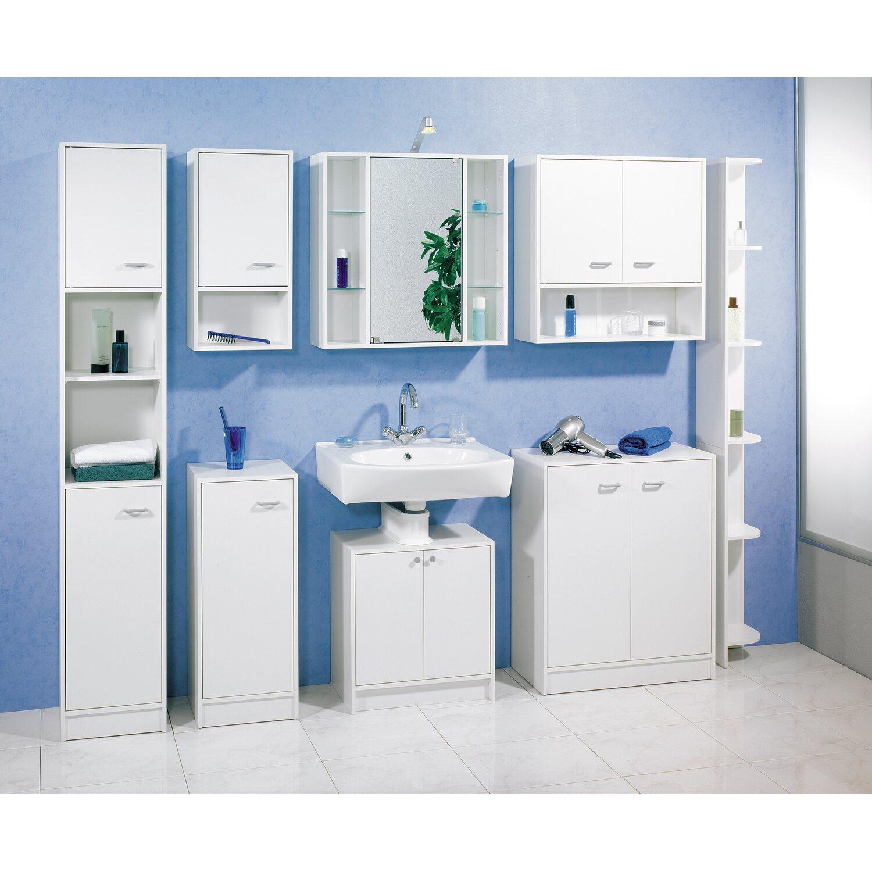 fackelmann eckregal 185 cm standard wei kaufen bei obi. Black Bedroom Furniture Sets. Home Design Ideas