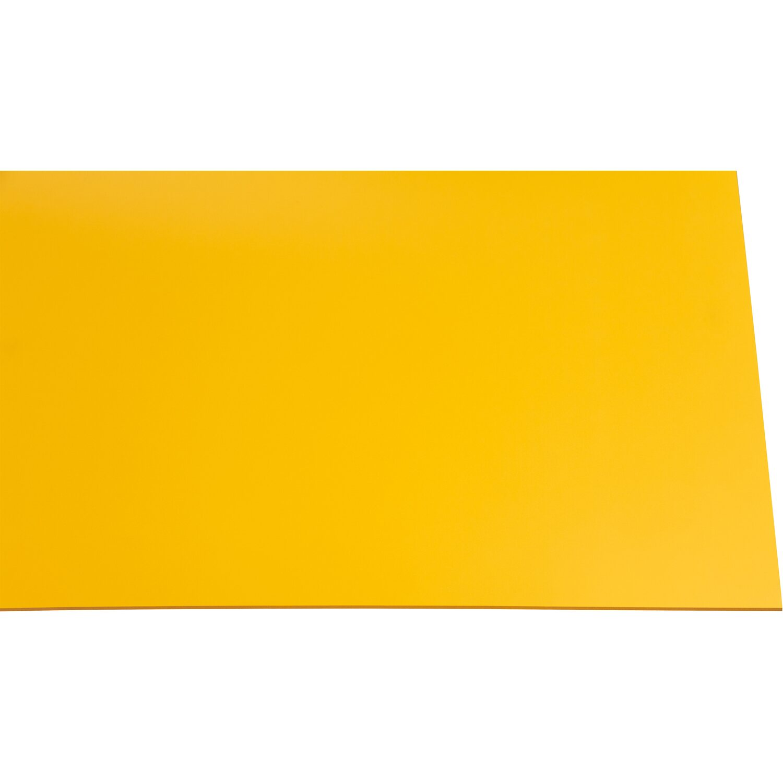 kunststoffplatte guttagliss hobbycolor gelb 50 cm x 25 cm kaufen bei obi. Black Bedroom Furniture Sets. Home Design Ideas