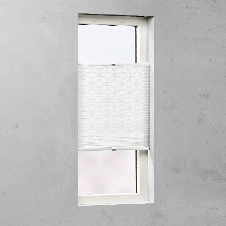 cocoon plissee verspannt 20 mm dessin circle 40 cm x 130 cm kaufen bei obi. Black Bedroom Furniture Sets. Home Design Ideas