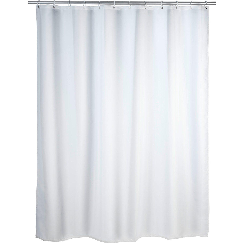 duschvorhang anti schimmel 180 cm x 200 cm white kaufen bei obi. Black Bedroom Furniture Sets. Home Design Ideas