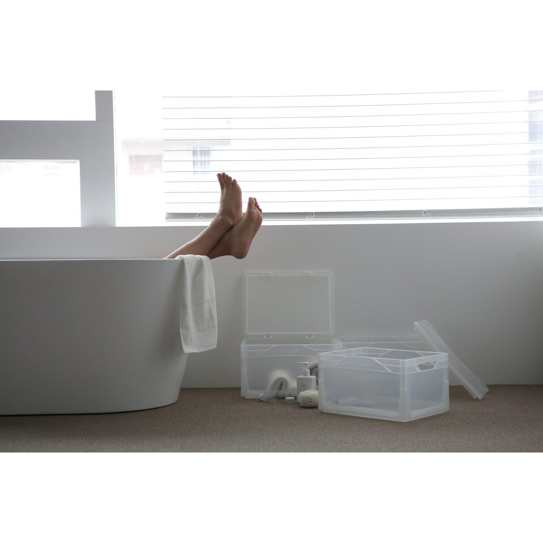 Obi Eurobox System Tauro Box Vollwand 60 X 40 X 12 Cm Grau Kaufen