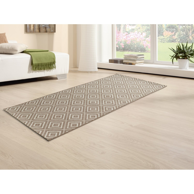 obi teppich tavira taupe creme 80 cm x 180 cm kaufen bei obi. Black Bedroom Furniture Sets. Home Design Ideas