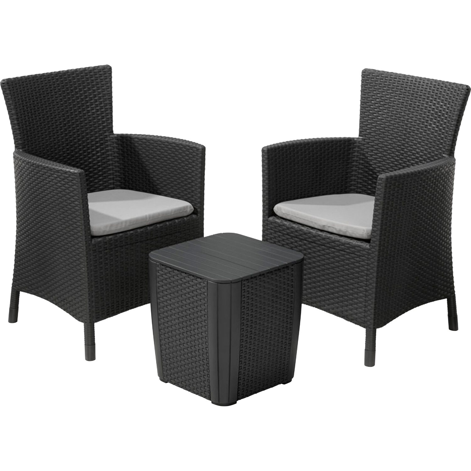 kunststoffwicker balkon set iowa kaufen bei obi. Black Bedroom Furniture Sets. Home Design Ideas