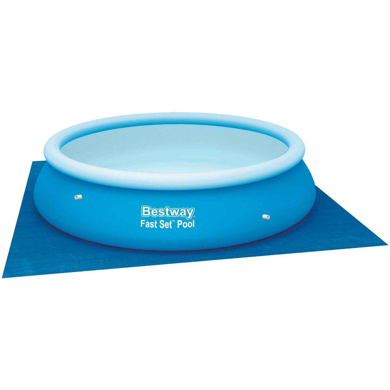 Bestway pool bodenplane 3 35 m x 3 35 m kaufen bei obi for Bestway pool bei obi