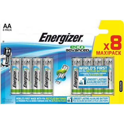 Energizer Eco Advanced AA (Mignon) 8 Stück