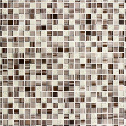 Glasmosaikmatte braun selbstklebend 30 cm x 30 cm kaufen bei obi - Mosaik fliesen selbstklebend ...