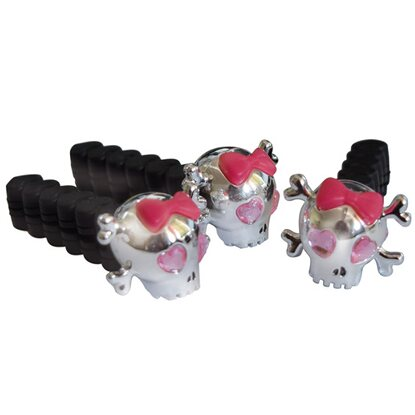 Airflair Driven Girl Skull Clips