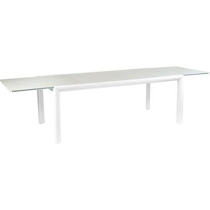obi gartentisch princeton ausziehbar alu glas 75 cm x 200 310 cm x 100 cm kaufen bei obi. Black Bedroom Furniture Sets. Home Design Ideas