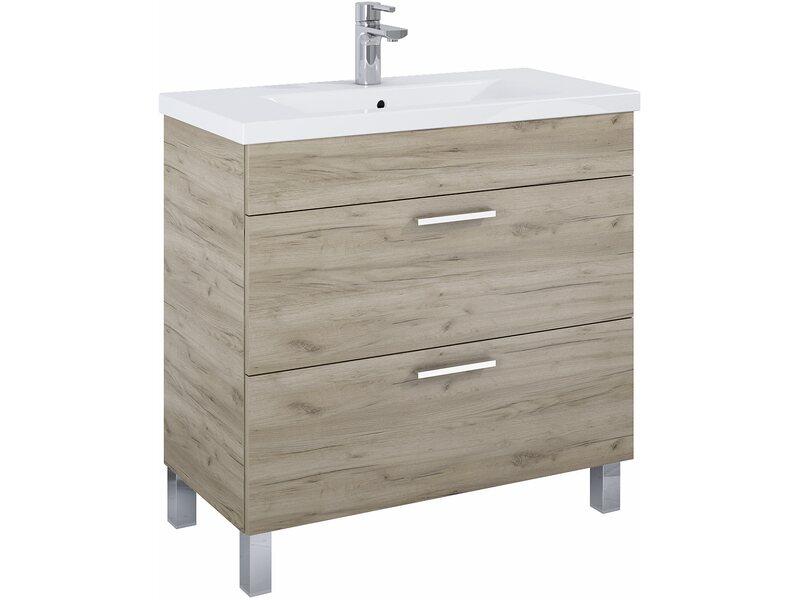 waschbeckenunterschrank 80 cm atile craft eiche kaufen bei obi. Black Bedroom Furniture Sets. Home Design Ideas