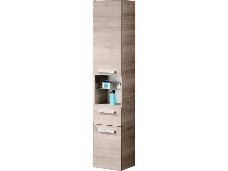 fackelmann hochschrank 4 b den a vero eiche kaufen bei obi. Black Bedroom Furniture Sets. Home Design Ideas