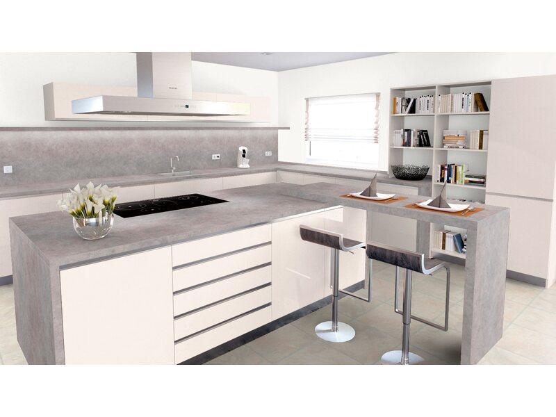 Graue arbeitsplatte  Arbeitsplatte 65 cm x 3,9 cm freestone grau (FR418C) kaufen bei OBI